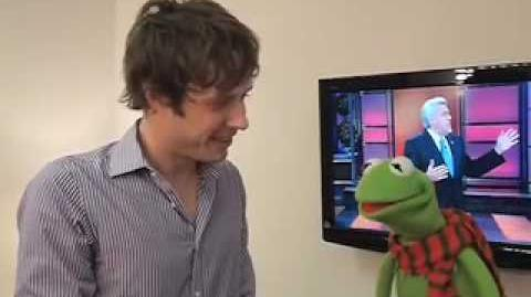 Damian Kulash and Kermit the Frog