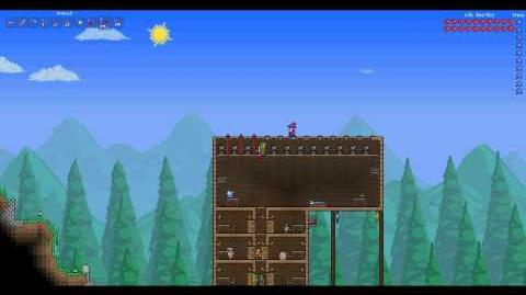 How To Terraria Making A Heart Dispenser, How To Use Wire, How To Get Engineer NPC