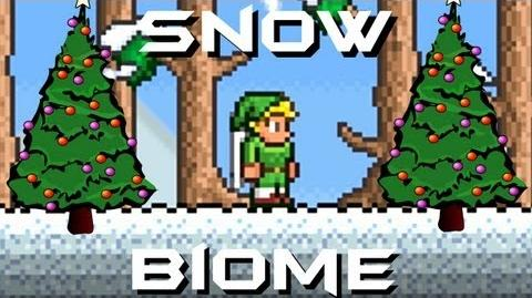 Snow Biome 1.1.1 Terraria HERO