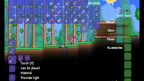 Terraria - 1.1 Items - New coloured torches
