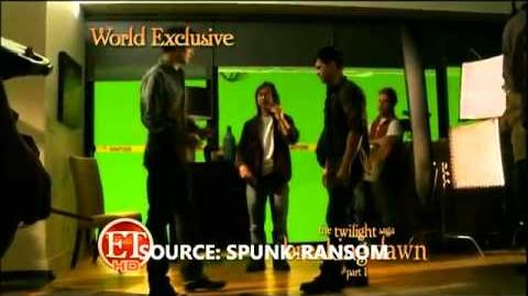 Entertainment Tonight- Behind The Scenes Look at Breaking Dawn Part 1