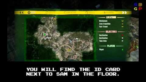 Dead Island - Id Card 62 Location