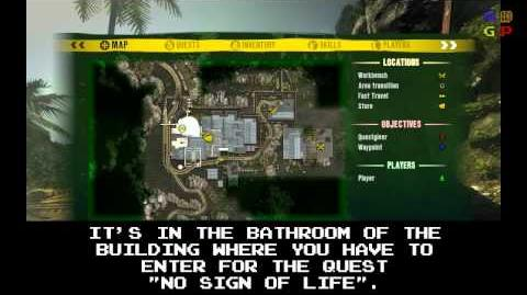 Dead Island - Id Card 78 Location