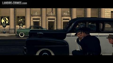 Bank Job - Street Crime - L.A. Noire