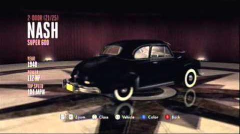 L.A. Noire - 2 Door - Nash Super 600