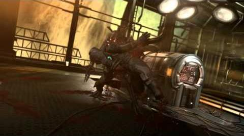 Dead Space 2 - Ubermorph Death Scene 2