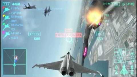 Ace combat Joint Assault - PSP - Multiplay