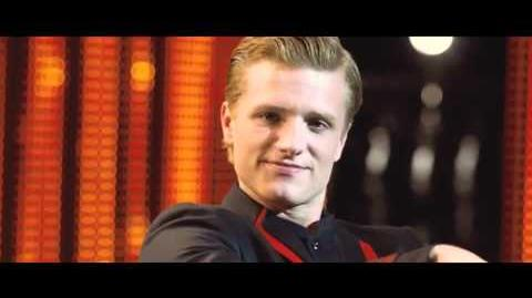 The Hunger Games Clip - Peeta's Interview With Caesar