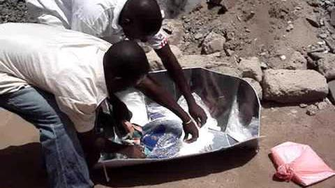 Solar Cooking in Sierra Leone West Africa