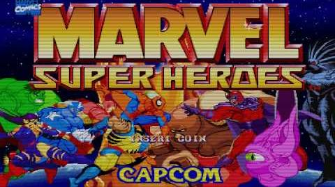 Marvel Super Heroes Arcade Intro