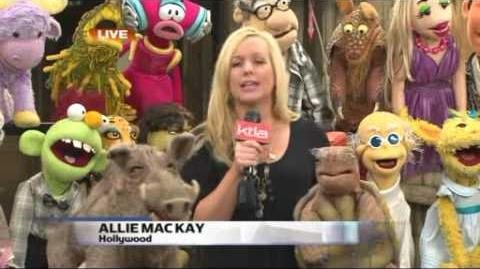 Puppet Up! - Appearance on KTLA 1