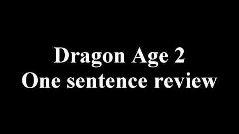 Dragon Age 2 One Sentence Review