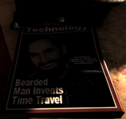 Bearded Man Invents Time Travel Turbulence MW3