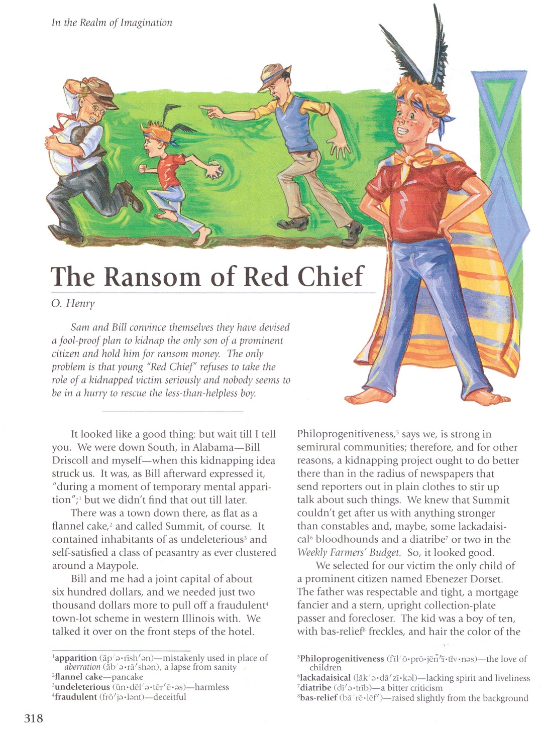 the ransom of red chief guiding questions and answers