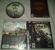 Fallout 3 GOTY box art