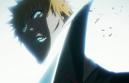 Ichigo cut by Inaba&#39;s Zanpakuto