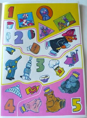 Grover sticker book 2