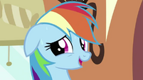 Rainbow Dash embarrassed S2E24