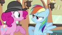 Rainbow Dash &quot;I don&#39;t HAVE pink hair in my mane, genius!&quot; S2E24