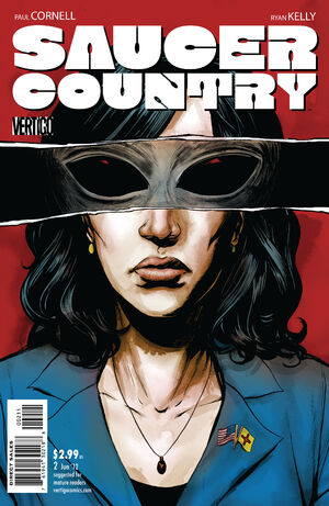 Cover for Saucer Country #2