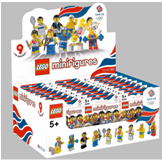 Olympic minifigs box