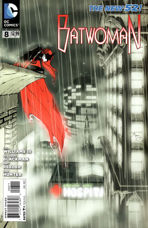 Cover for Batwoman #8