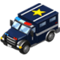 Car detective van icon