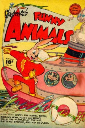 Cover for Fawcett&#39;s Funny Animals #64