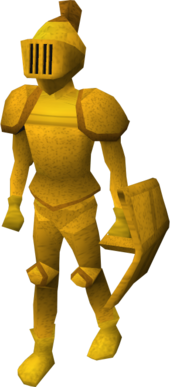 Gilded armour old