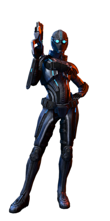 Human Female Sentinel MP