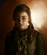 Arya Stark by Anja Dalisa