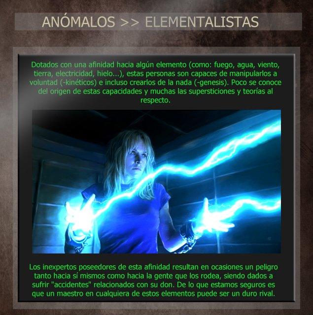 Anómalos: personas con habilidades sobrenaturales Elecopycopia