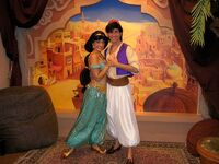 Aladdin and Jasmine