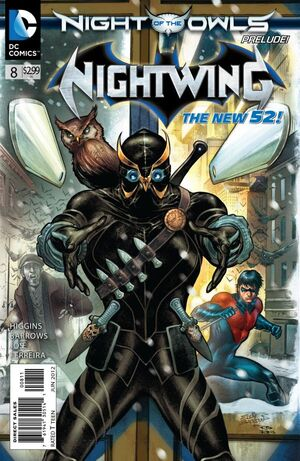 Cover for Nightwing #8