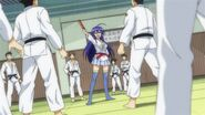 Medaka challenges the Judo Club
