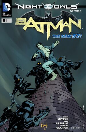 Cover for Batman #8