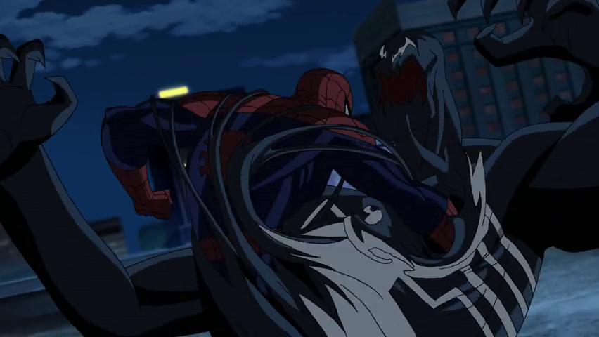Человек паук и веном trn123 1