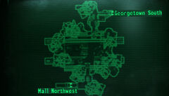 GT The Mall NW loc map