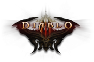 Diablo III demon splash logo