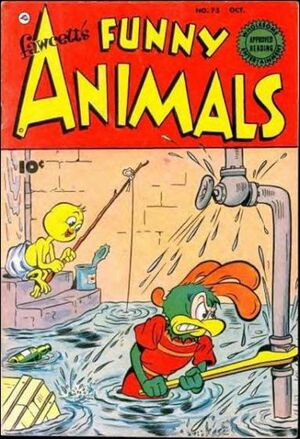 Cover for Fawcett's Funny Animals #73
