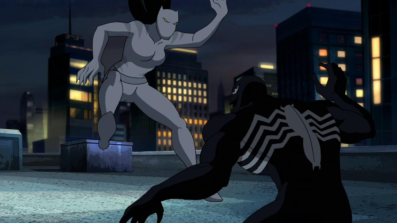 Ultimate spiderman white tiger dark side
