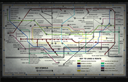 Tube Map Underground MW3