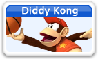 MSM- Diddy Kong Icon