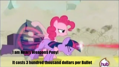 Heavy Weapons Pinkie Pie