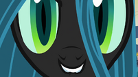 Chrysalis close to the screen S2E26