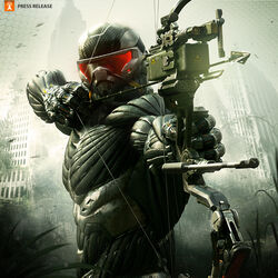 Crytek&#39;s Crysis 3 promotional Image