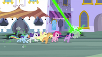 Changelings trying to attack main 6 S2E26