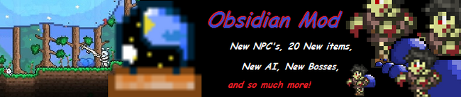 Obsidian Banner large