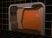 Galaxy class holodeck arch