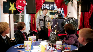Chang meets his new security force